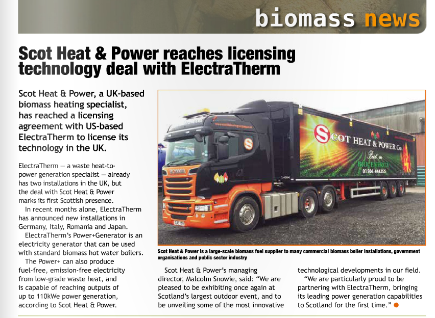 Bioenergy Insight article july 2016